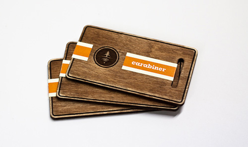 Wooden Business Card Inspiration by Staci Paul