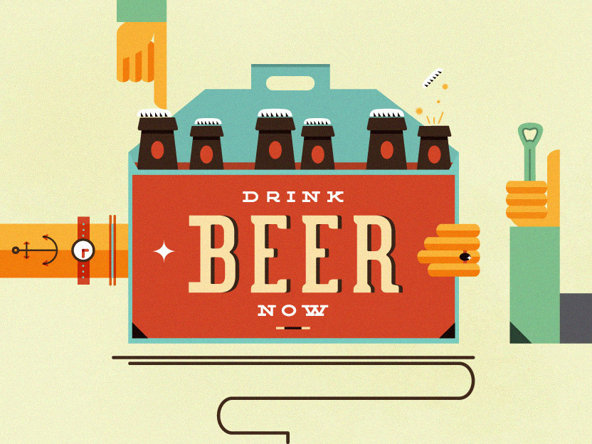 beer illustration