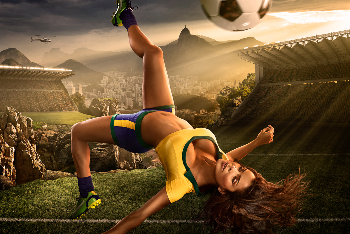 World Cup Women Calendar 41 A Collection of Design Projects for the Fifa World Cup 2014